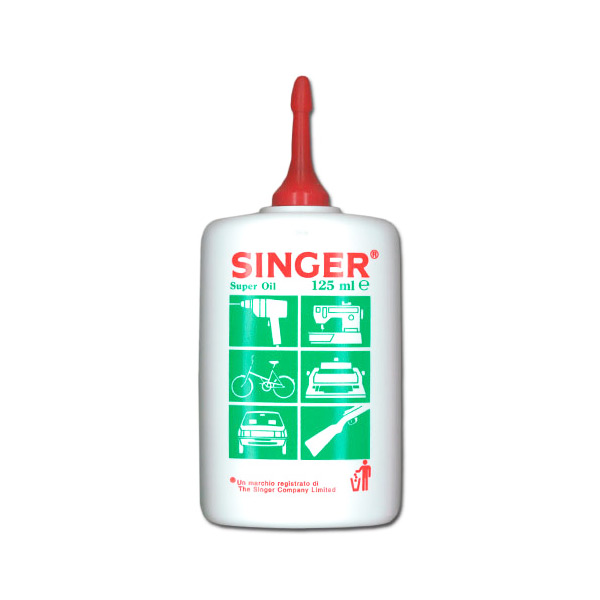 ACEITE MAQUINA COSER 125ml SINGER
